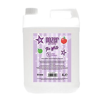 Pozer Too White Shampoo 4L