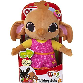 Bing Talking Sula Soft Toy 25cm With 15 Phrases From Birth +