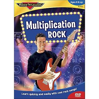 Rock'N Learn - Multiplication Rock [DVD] USA import