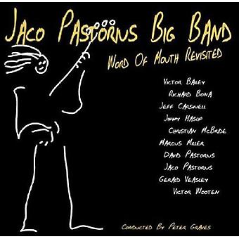 Pastorius, Jaco Big Band - Word of Mouth Revisited [CD] USA import