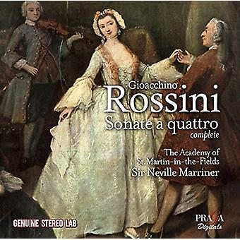 Academy of st Martin-in-the-Fields - Rossini: Sonate a Quattro Nos.1-6 [CD] USA import