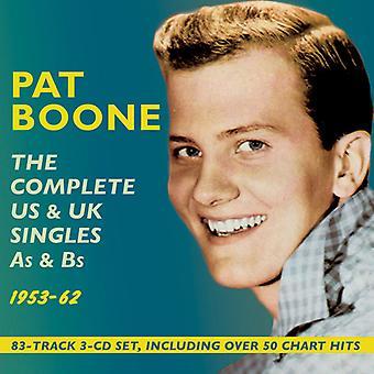 Pat Boone - Boone Pat-completare noi & Uksingles come importazione USA [CD]