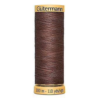 Gutermann 100% Natural Cotton Thread 100m Hand and Machine Colour Code  - 2724