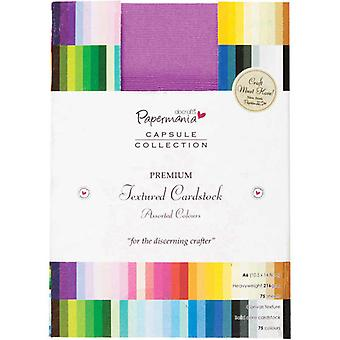 Papermania A6 Solid Premium Cardstock Colossal (75pcs) (PMA 1641402)