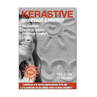 Kerastive Tan & Protec 60 capsules