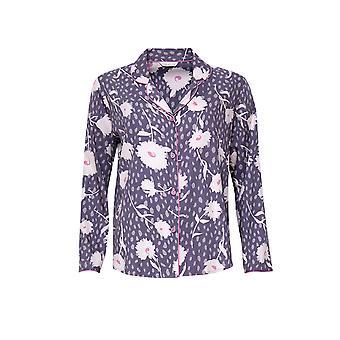 Cyberjammies Serena 4552 Femmes-apos;s Lilas Mix Floral Print Pyjama Top