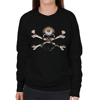 Alchemy Skull And Cross Bones Women's Sweatshirt