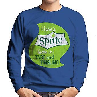 Heres sprite Taste IT 1960 logo miesten College pusero