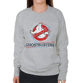 Ghostbusters ritade logo kvinnor ' s tröja