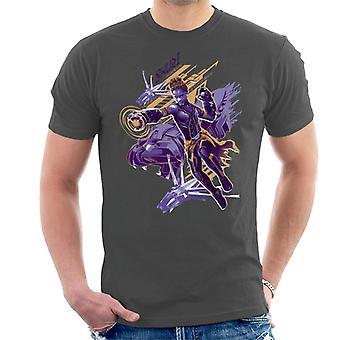 Bewundern Sie Black Panther Shuri Vibranium Gauntlet Angriff Herren T-Shirt