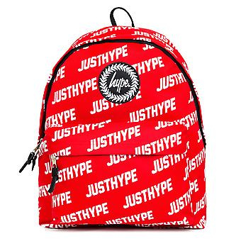 Hype JustHype School Sports Gym Backpack Rucksack Bag Red