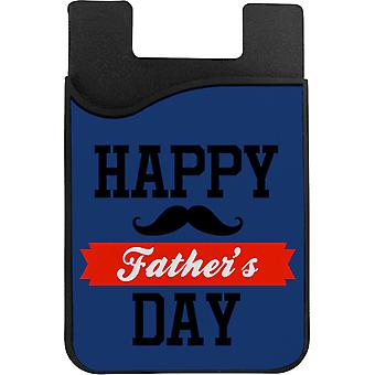 Porte-cartes de téléphone Happy Fathers Day Moustache