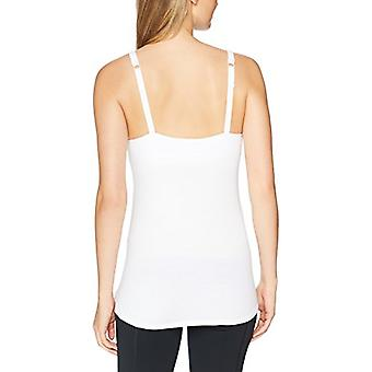 Marque - Arabella Women-apos;s Henley Nursing Tank, Bright White, Large