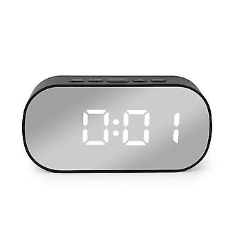 Digital Mirror Led Alarm Night Lights Thermometer Alarm Clock - Multi-function