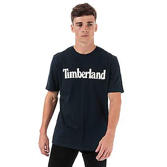 Men's Timberland Kennebec River Brand T-Shirt in Blue