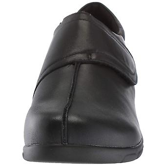 Propét Womens Willa Leather Closed Toe Clogs