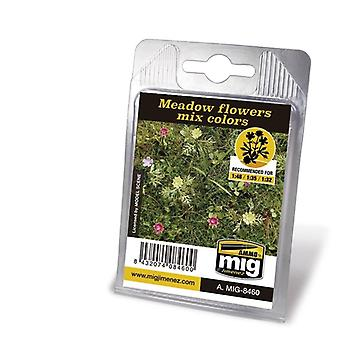 Ammo by Mig Laser Cut Plants 8460 - Meadow Flowers Mixed Colors