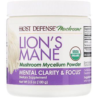 Fungi Perfecti, Lion's Mane, Mushroom Mycelium Powder, Mental Clarity & Focus, 3