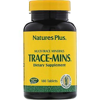 Nature's Plus, Trace-Mins, Multi-Trace Minerals, 180 Tablets