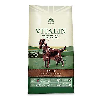 Vitalin Natural Adult Huhn & Kartoffel - 12kg
