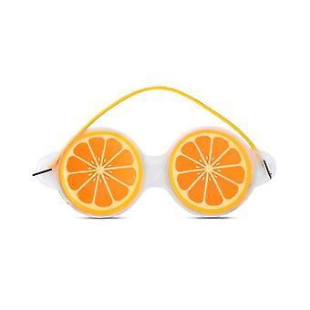 Fruit Ice Compress -silmänaamio, lievittää väsymystä, mustat silmäpussit, söpö uutuus