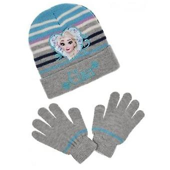 Disney frozen girls hat and gloves set fro7374hg