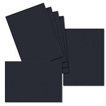 Dark Blue. 128mm x 179mm. 5 inch x 7 inch. 235gsm Card Sheet.