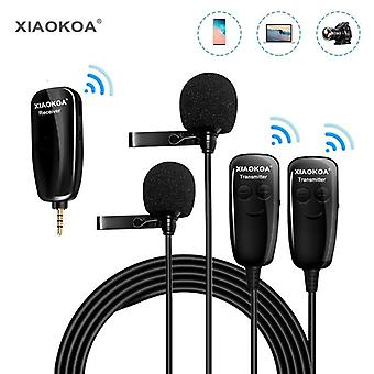 Wireless Microphone Recording For Iphone Ipad Pc Android Dslr