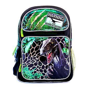 Raptor Backpack Dinosaurs Jurassic World Bag