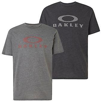 Oakley Mens Bark Oakley Korte Mouw Crew Regular Fit T-shirt