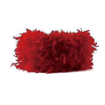 Sombra pluma rojo 410mm x 200mm