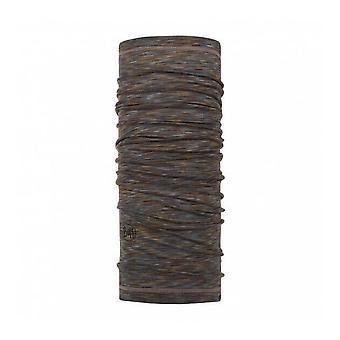 Buff Merino Wool Neck Warmer Fossil Multi