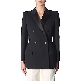 Givenchy Bw30al12cl001 Damen's Schwarze Wolle Blazer