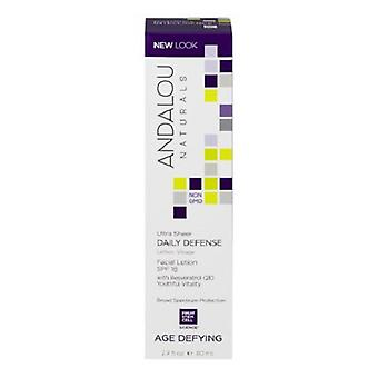 Andalou Naturals Age Defying Ultra Sheer Daily Defense Facial Lotion