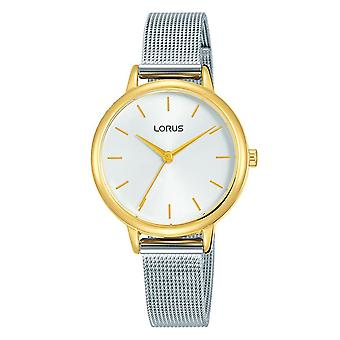 Lorus Ladies Two Tone Dress Mesh Rannekoru Kello (Malli nro. RG250NX9)