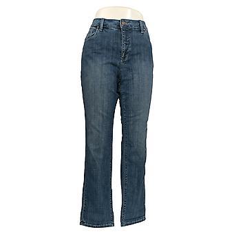 Laurie Felt Women's Jeans Slim Leg Boyfriend Style Blue A351981