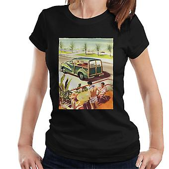 Morris Traveller Summer British Motor Heritage Women's T-Shirt