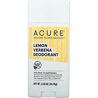 Acure Lemon Verbena مزيل العرق, ليمون فيربينا 2.25 أوقية