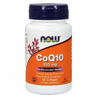 """Now Foods CoQ10, 100 מ""""ג, 50 כמוסות רכות"""