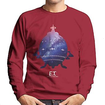 E.T. Spacecraft Galactic Silhueta Men's Moletom