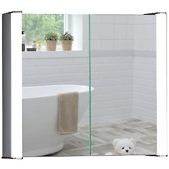LED Bathroom Mirror Cabinet 60cm(H) x 65cm(W) x 16cm(D)  C12