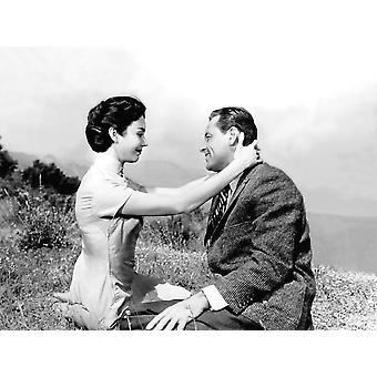 愛が芽生えたことジェニファー ・ ジョーンズ ウィリアム ・ ホールデン 1955 Tm と著作権 20 世紀フォックス映画株式会社すべての権利予約写真印刷