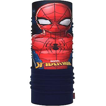 Buff Kids Super Heroes Polar Outdoor Protective Tubular Scarf - Spiderman