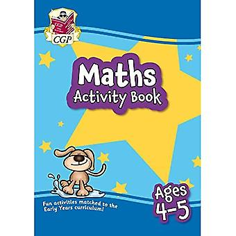 New Maths Home Learning Activity Book for Ages 4-5