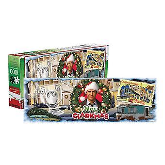 Christmas vacation 1,000 pc slim puzzle