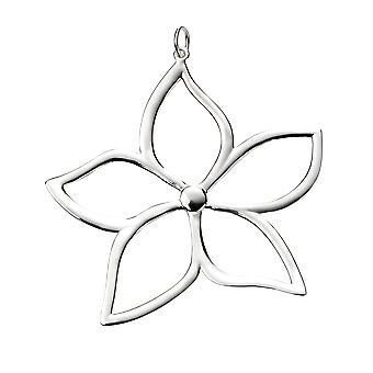 Large Flower pendant necklace