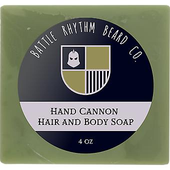 Hand Cannon Hair & Body Soap