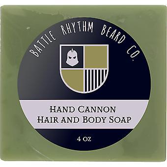 hånd kanon hår & kroppen såpe