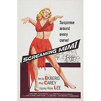 Screaming Mimi Movie Poster Print (27 x 40)