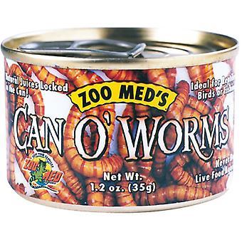 Zoo Med Can O Worms Burk maskar (Reptiler, Reptilmat)